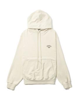 Printed back hoodie