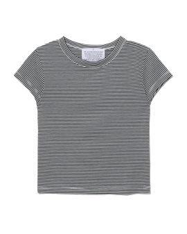 Striped slim-fit tee