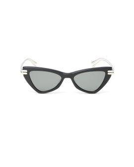 Cat eye tinted sunglasses