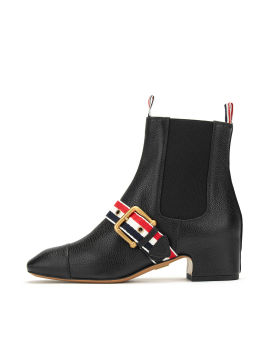 Nipped Chelsea ankle boots
