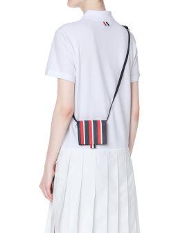Multicolour shoulder strap card holder