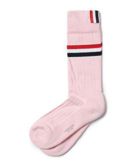Athletic mid calf socks