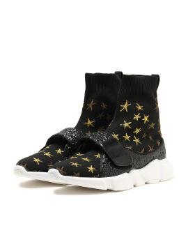 Star sock sneakers