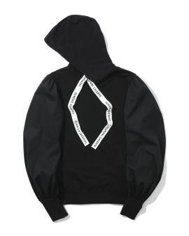 Puffed sleeve hoodie