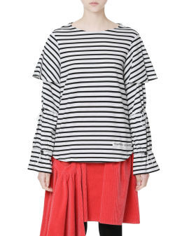 Striped layered top