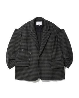 Layered sleeve jacket
