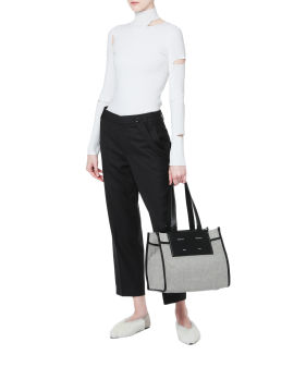 Giselle cut-out turtleneck sweater