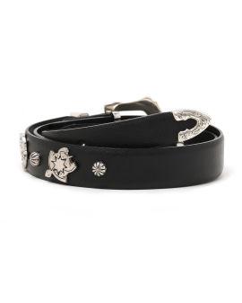 Metal motif belt