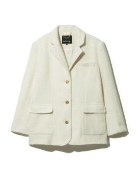 Accent button blazer