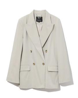 Oversized double breasted blazer