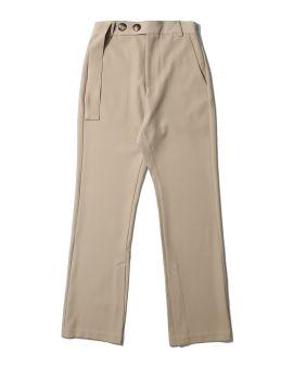 Buttoned waist pants