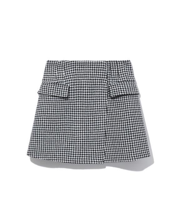 Wrap mini skirt image number 0