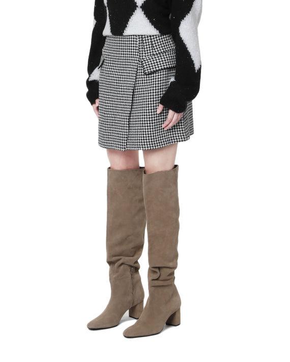 Wrap mini skirt image number 2