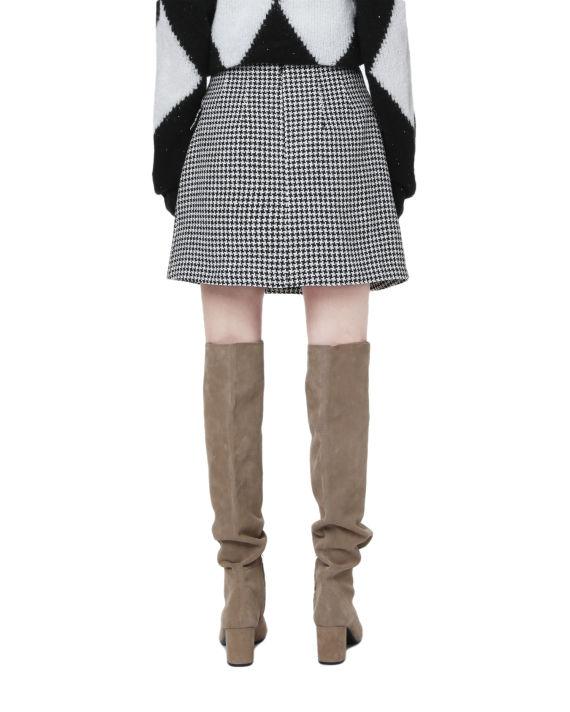 Wrap mini skirt image number 3
