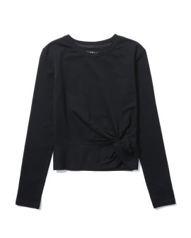 Knot detail sweatshirt