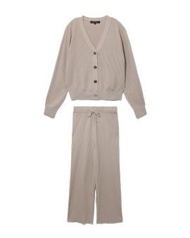 Cardigan and sweatpants set