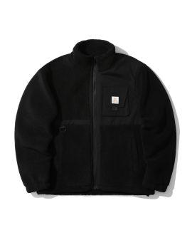 Shearling panelled jacket