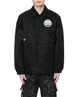 Logo patch jacket
