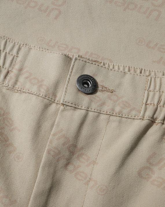 Logo motif pants image number 4