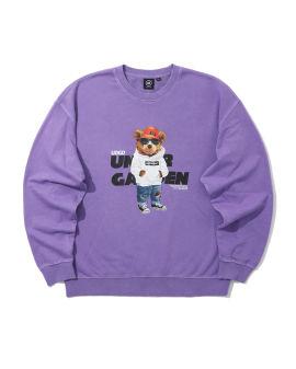 Graphic logo print sweatshirt