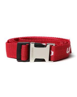 Woven logo belt