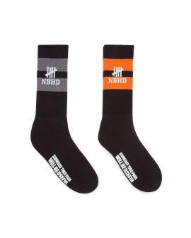 Logo stripe socks