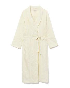 Midi-length robe
