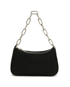Chained baguette bag