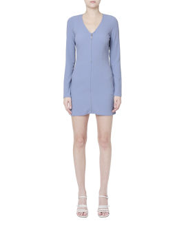 Zip slim fit dress