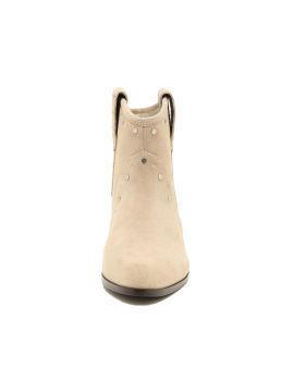 Stud-embellished ankle boots