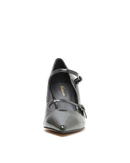 Buckle strap heels