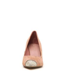 Sequin tip high heels