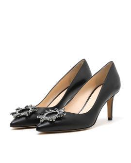 Strass embellished high heels