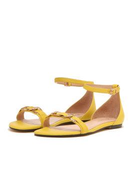 Chain embellished sandals
