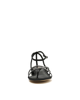 Strass embellished sandals