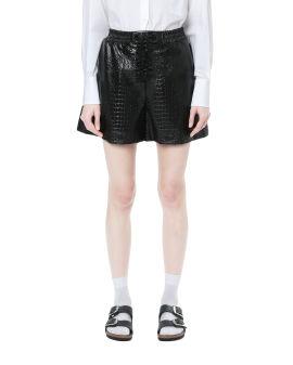 Croc effect shorts