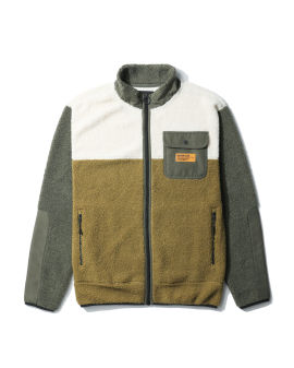 World Code sherpa fleece jacket
