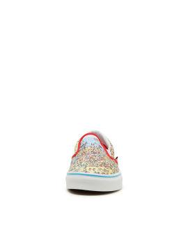 X Where's Waldo Classic slip-on sneakers