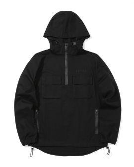 Chest pocket detail anorak jacket