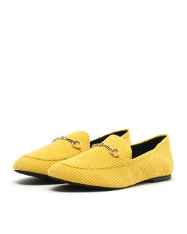 Corduroy loafers