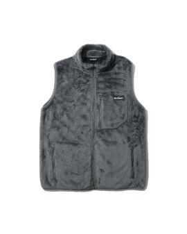 Logo fleece vest