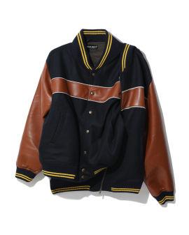 Double stripe bomber jacket