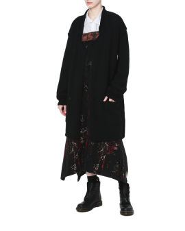 Oversized blazer cardigan