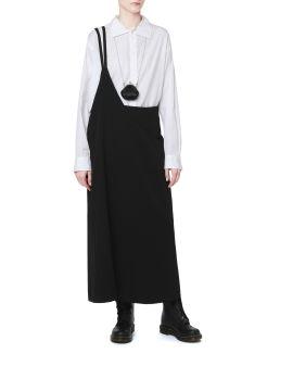 Asymmetrical apron dress