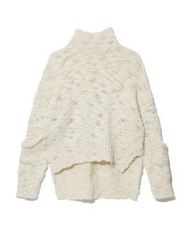 Chunky turtleneck knit