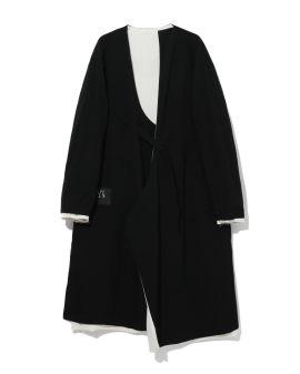 Reversible asymmetrical coat