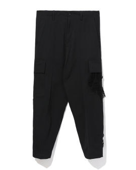 Cropped pocketed pants