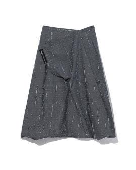 Wrap sarouel pants