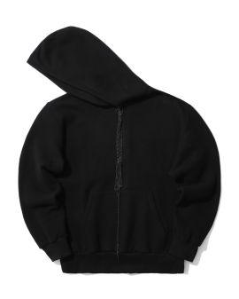 Embellished zip hoodie