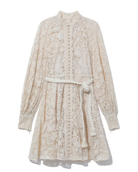 Cassia lace mini dress